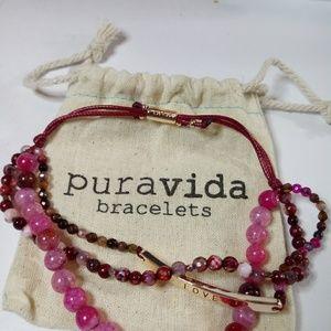 Puravida bracelet trio